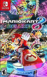 Mario Kart 8 Deluxe (Nintendo Switch, 2017) - BRAND NEW