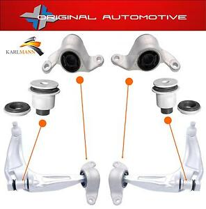 FITS-Honda-Civic-2006-2012-Anteriore-Sinistro-e-Destro-Sospensioni-Wishbone-Braccio-Bush-Kit