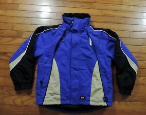 MARKER-Royal-Blue-Black-Winter-Ski-Snowboard-Jacket-Coat-Youth-Boys-Size-14