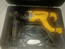 New Listingdewalt Rotary Hammer Drill With Shocks D Handle Sds 1 18 Inch D25263k