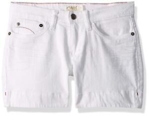 3e649442396c Mountain Khakis Womens Size 10 x 4 Genevieve Jean Shorts Linen White ...