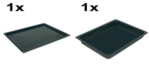 SET Original Gorenje Backblech Backofen 274662 Fettpfanne 274663 458x364x17//54mm
