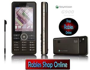 Sony-Ericsson-G900-Dunkel-Braun-Ohne-Simlock-3G-5MP-WLAN-Touch-Neuwertig-OVP