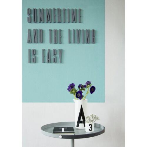 Z Scandi HALF PRICE! Design Letters Wooden Letters GREY Arne Jacobsen
