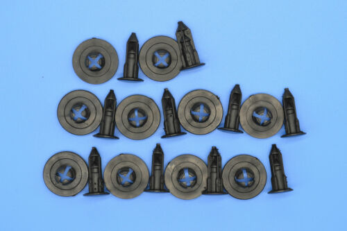 10pcs Honda CR-V noir garniture en plastique clips de fixation fasteners