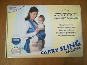 Fascia-Portabebe-Amazonas-Baby-Porta-Bebe-Carry-Sling-con-LIBRETTO-e-ISTRUZIONI