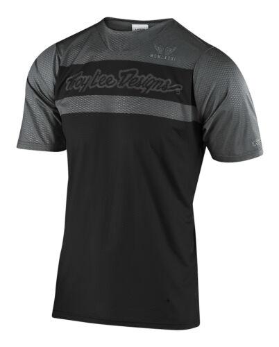 Troy Lee Designs Mountain Bike Skyline Air SS Jersey; Factory Black Gray Lg