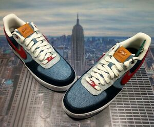 Levis x Nike Air Force'1