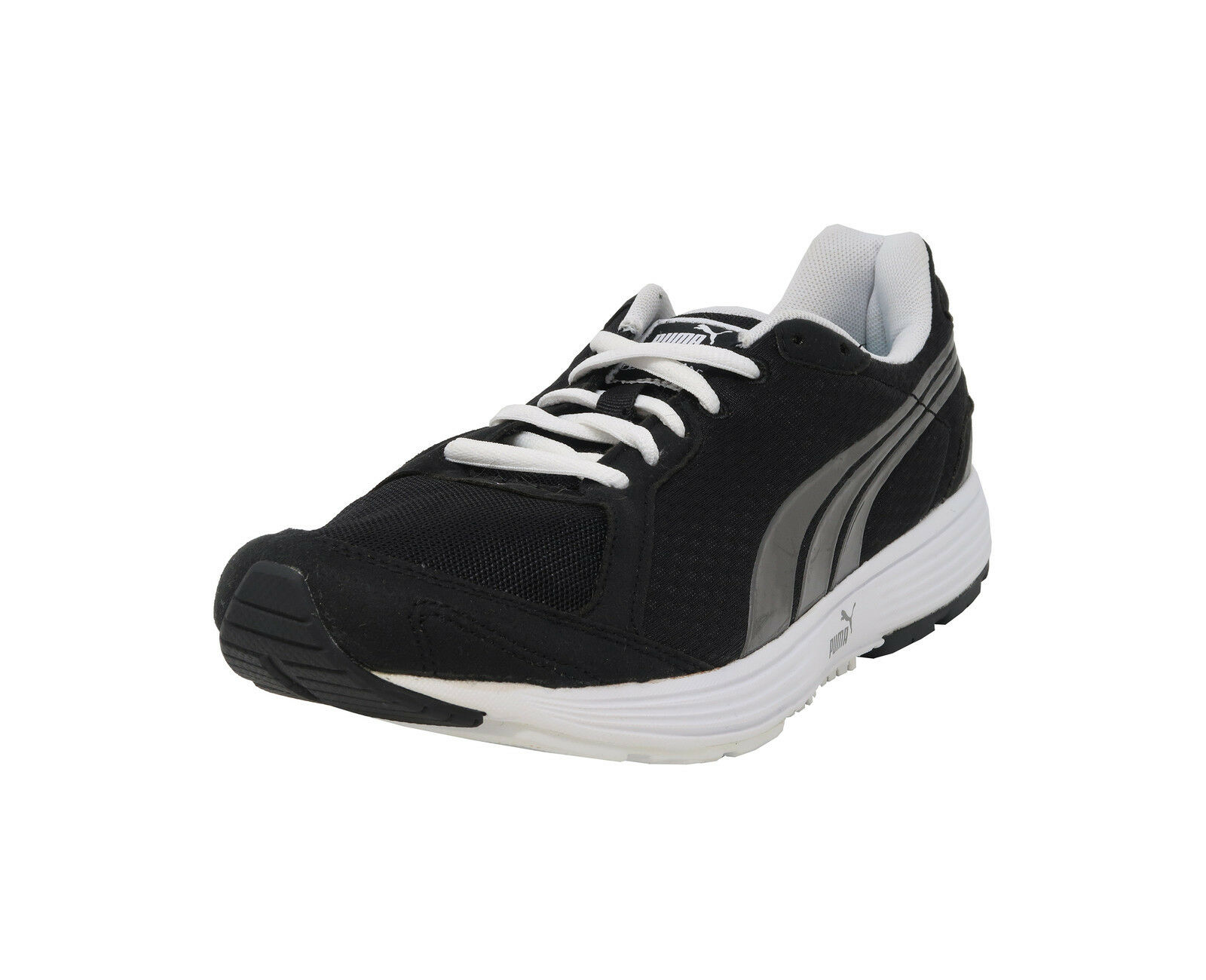 PUMA Descendant Black Aged Silver Silver Silver Running Athletic Sneakers Adult Men shoes 53bf14