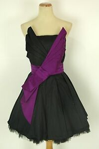New-Jovani-Formal-Cruise-Cocktail-400-Dress-Sz-10-Black-Club-gown-Short-Dress
