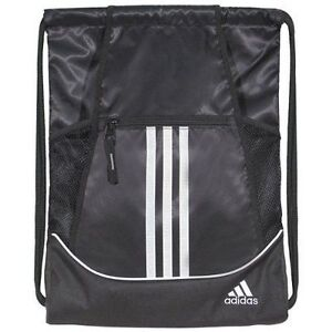 988fe69a5ef3 Alliance II Sackpack Drawstring Backpack adidas Sports Gym Bag School  Shoebag