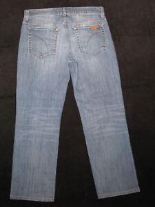 La W J0e Sz classique Jeans 32 X Distressed jambe 28 Mens Stretch droite vvqaFpxw