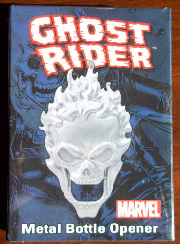 GHOST  RIDER METAL BOTTLE OPENER 3 INCHES NEW IN BOX MARVEL