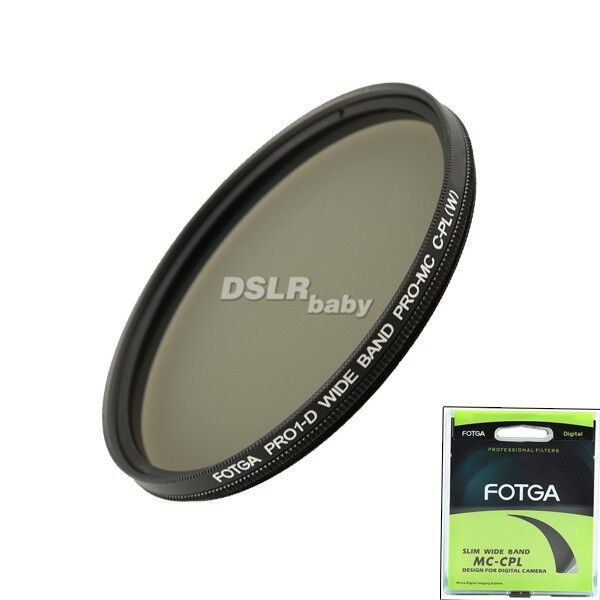 FOTGA 55mm PRO1-D super slim MC multi-coated Circular Polarizing lens filter CPL