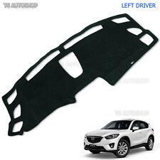 Dash Mat Left Black Dashmat Carpet Cover Fit Mazda Cx-5 Cx5 Hatchback 2016 17