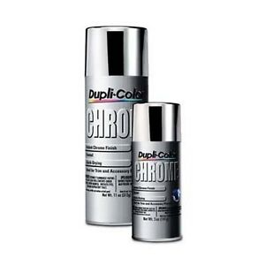 duplicolor cs101 instant chrome spray 11 oz aerosol ebay. Black Bedroom Furniture Sets. Home Design Ideas