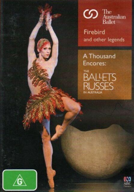 2-DVD SET PAL4: Australian Ballet Firebird+ & Ballets Russes 1000 Encores DANCE