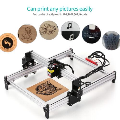 2500mw Desktop Lasergravurmaschine Lasergravierer CNC Engraver DIY Laserdrucker