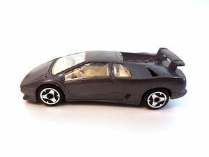 Bburago Lamborghini Diablo Silver Grey Burago 1 43 Ebay