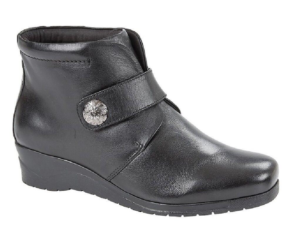 Mod comfys l874a leather closure scratch centre couture boots