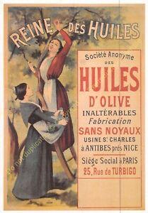CP Postcard Poster Advertising Queen Of Oils Edit Clouet 10976