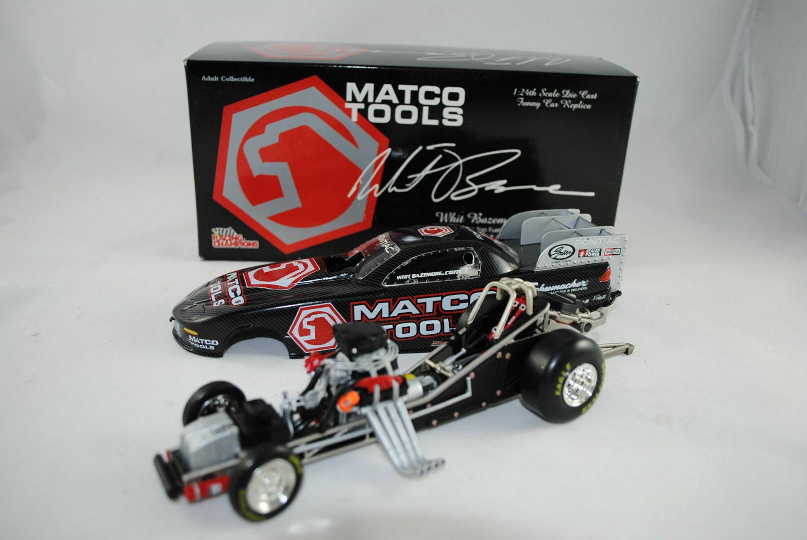 1 24 racing Champions Matco Tools Pontiac Whit Bazemore Limited Editon