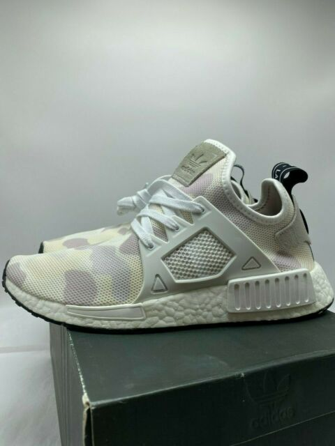 2016 adidas NMD Xr1 Duck Camo Running Footwear White Cream Beige Black Ba7233 8