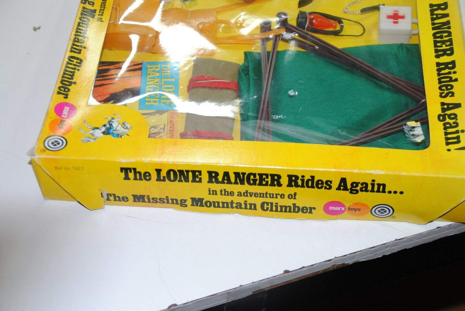 THE LONE RANGER RIDES AGAIN AGAIN AGAIN MARX GABRIEL   THE MISSING MOUNTAIN CLIMBER    mib 15f714