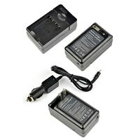 Battery Charger For Panasonic Dmw-bcf10e Lumix Dmc-fh20s Dmc-fh22 Dmc-fh22k Usa