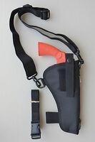 Bandolier Shoulder Holster For 6 Revolver Fits Ruger, S & W, Colt
