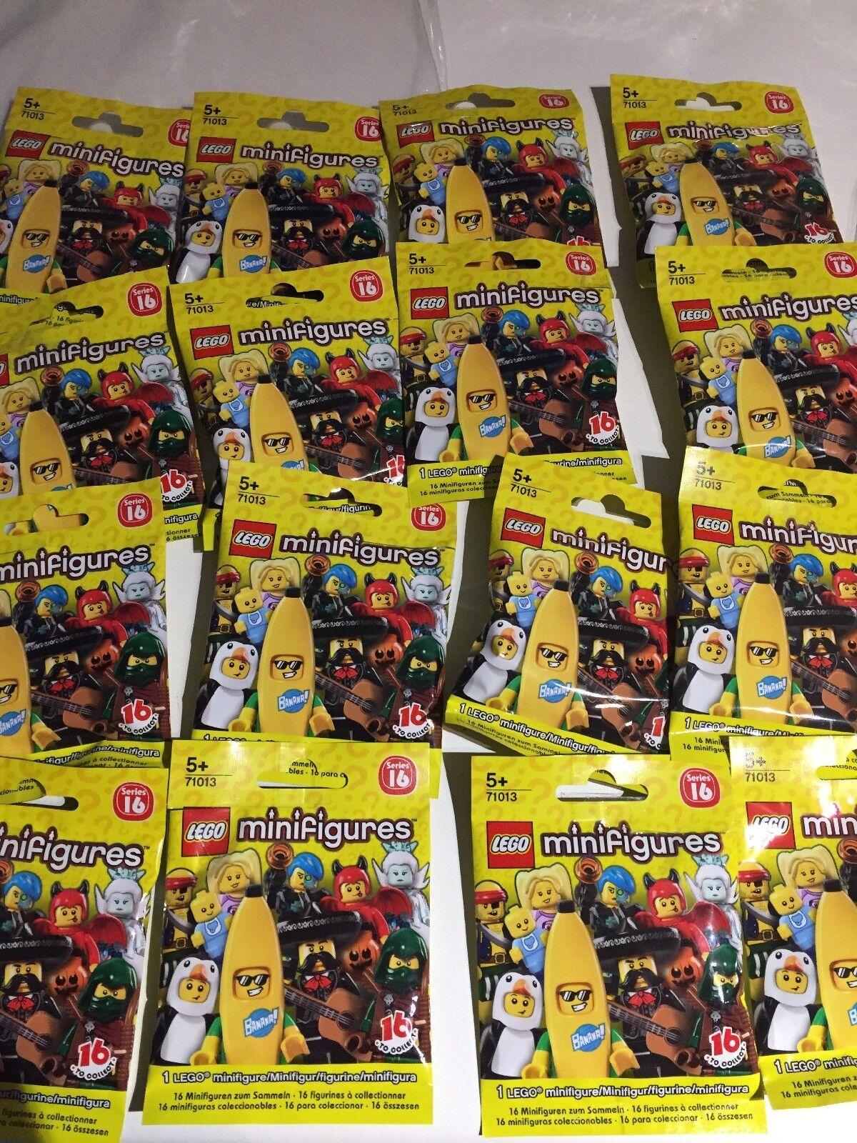 LEGO Minifigures Series 16 -  Complete Set of 16 Mini figures