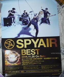 SPYAIR-BEST-Japan-Promo-Poster