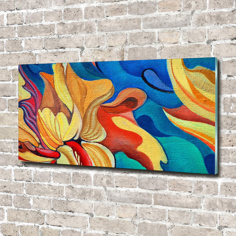 Leinwandbild Kunst-Druck 140x70 Bilder Landschaften Dschungel