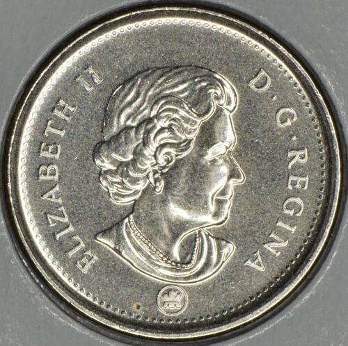 CANADA Lot of 2 x 5 CENTS 2010 L MS