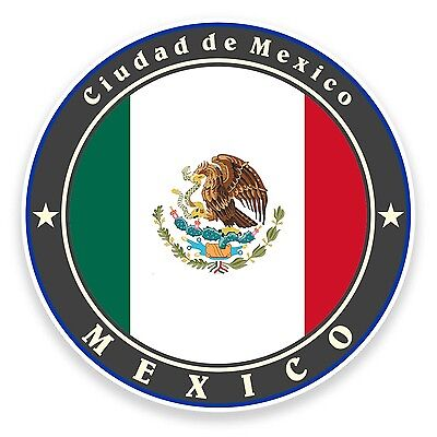 2 x Mexico Vinyl Sticker Laptop Travel Luggage Car #5325