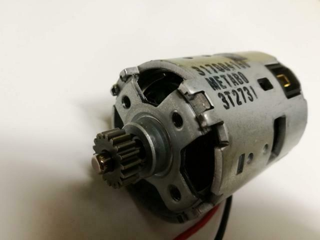 Genuine Metabo 317004160 Engine Complete to BS 18 LT BS 18 LT Quick Drive Motor New