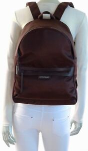 bab8b3e754 Image is loading LONGCHAMP-Paris-LE-PLIAGE-NEO-BACKPACK-COLOR-CHOCOLATE