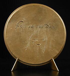 Medal-034-Do-What-Have-034-Signature-Gaston-Monnerville-Grandson-of-Slave-Medal