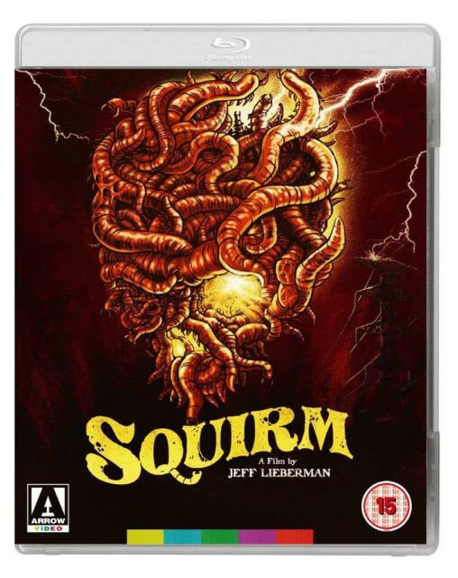 Squirm (Blu-Ray and DVD Combo, 2013, 2-Disc Set)