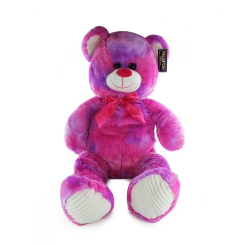 "Kellytoy 31.5/"" Pink Tie Dye Giant Teddy Bear Super Soft Plush Stuffed Toy"