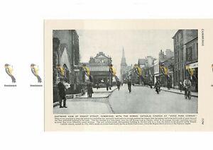 Regent-Street-Cambridge-England-Book-Illustration-c1920