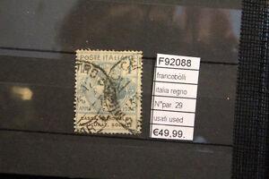 FRANCOBOLLI-ITALIA-REGNO-N-PAR-29-USED-USATI-F92088