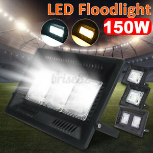 50//100//150W Waterproof LED Flood Light Outdoor Garden Landscape Sopt Lamp 220V