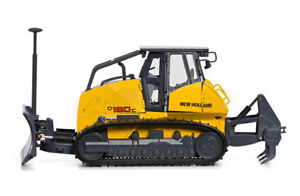 Motorart-13786-New-Holland-D180C-Laser-Guided-Bulldozer-1-50-New-Die-cast-MIB