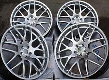"18 ""Silver DTM Ruote in Lega Adatta MERCEDES C E M S CLASSE KLASS CLK CLC CLS SL SLK"