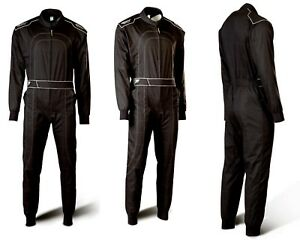 Daytona-Karting-Suit-schwarz-Speed-Racewear-Single-Layer-1-Piece-Racing-Suit