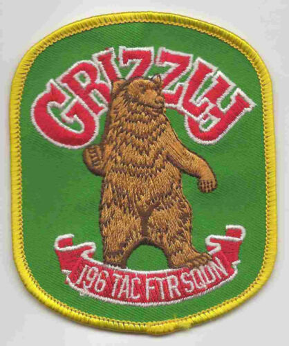 196th TFS GRIZZLY patch