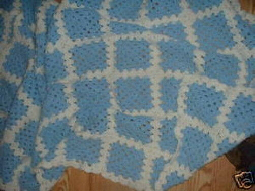 Afghan or Throw Hand crafted Crochet Afaghan