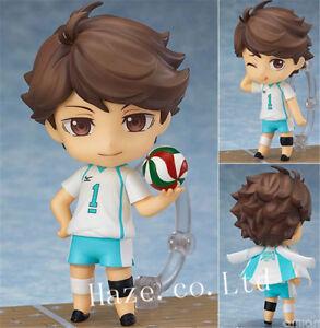 Anime-Haikyuu-Oikawa-Tooru-Nendoroid-PVC-Figura-Figurilla-Modelo-Juguete