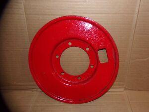 8N2255-Ford-Tractor-8N-NAA-Jubilee-Brake-Dust-Shield-Back-Plate-w-Felt-Seal